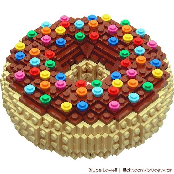 lego food donut