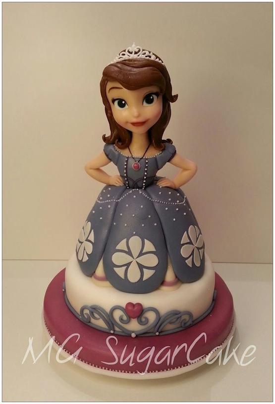 Princess Sofia Cake Topper Nz