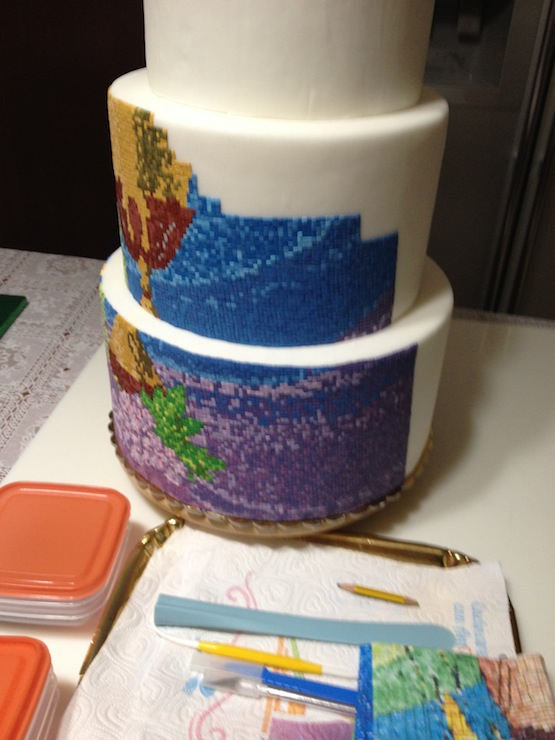 torta mosaico