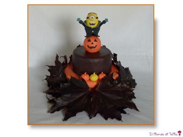 torta minion halloween