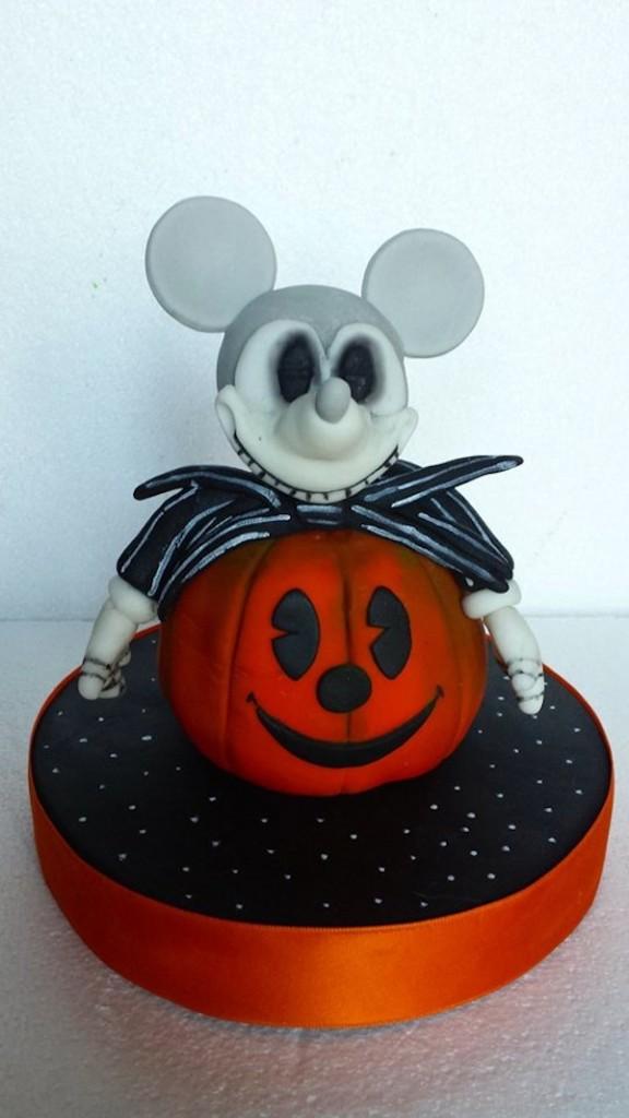 torta topolino mickey mouse halloween cake