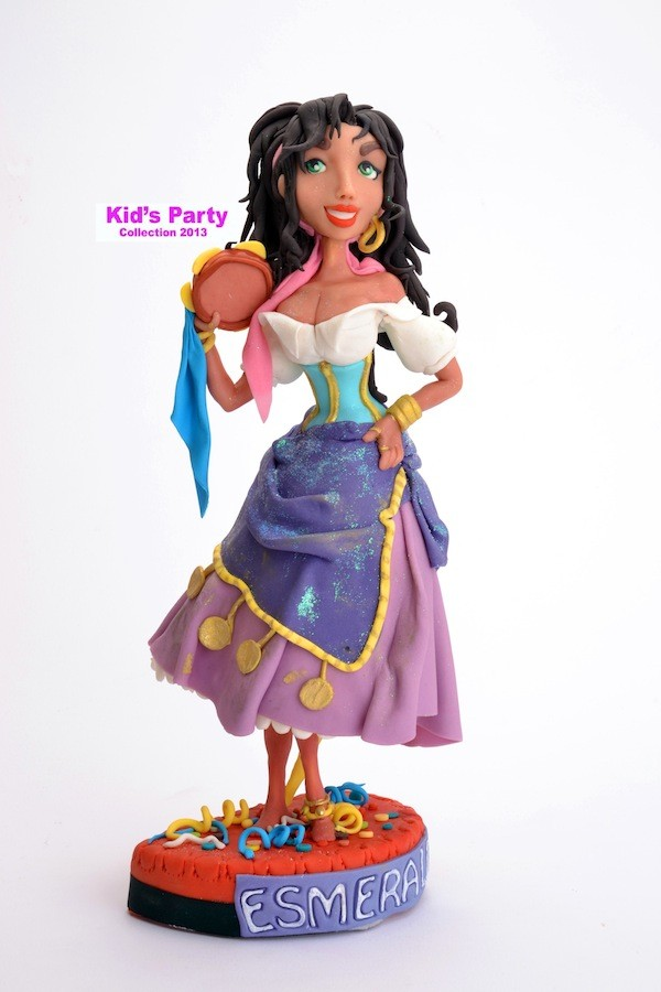 Esmeralda in pasta di zucchero