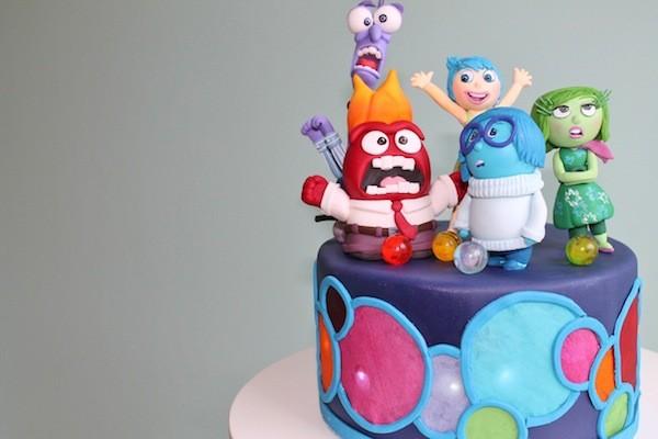 gioia tristezza torta inside out