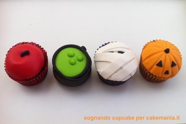 cupcake di halloween facili
