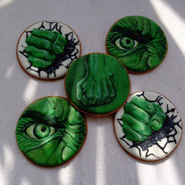 Art Biscotti biscotti hulk cookies