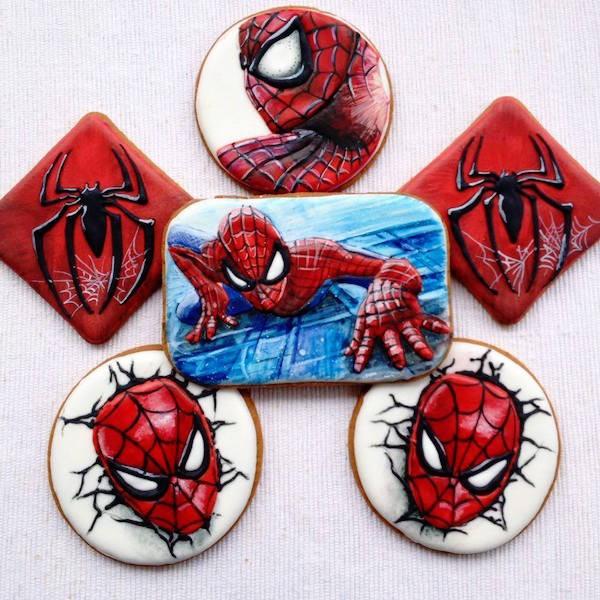 Biscotti Decorati Dei Supereroi Hulk Spiderman Batman