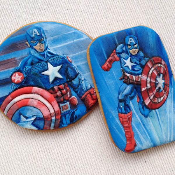 biscotti capitan america