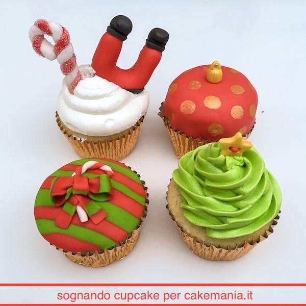 cupcake di natale facili