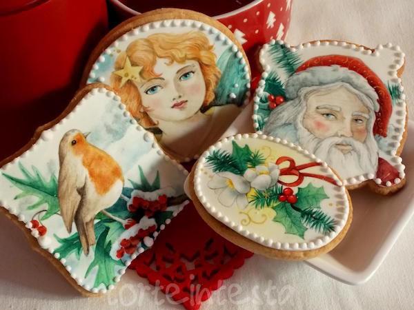 come si decorano i biscotti di Natale