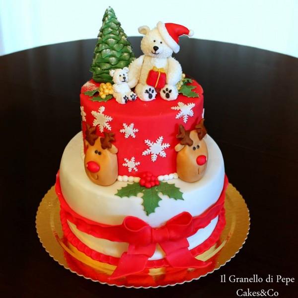 Torte decorate con albero di natale - Torte natalizie decorate ...