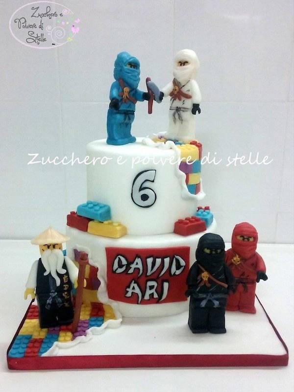 Ninja Warrior Cake Toppers