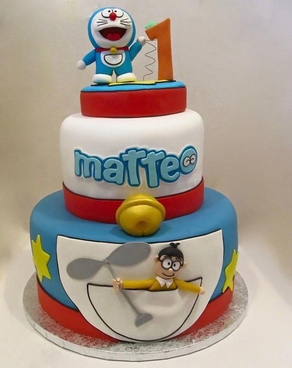 Torta doraemon di cake design le idee da copiare