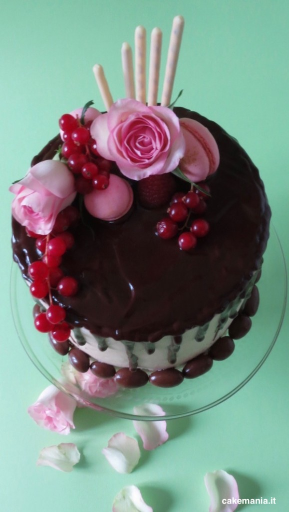 come si fa una drip cake
