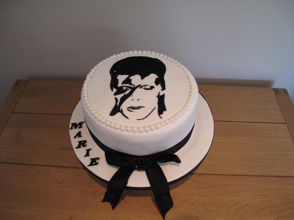 Torta David Bowie Una Gallery Di Cake Design