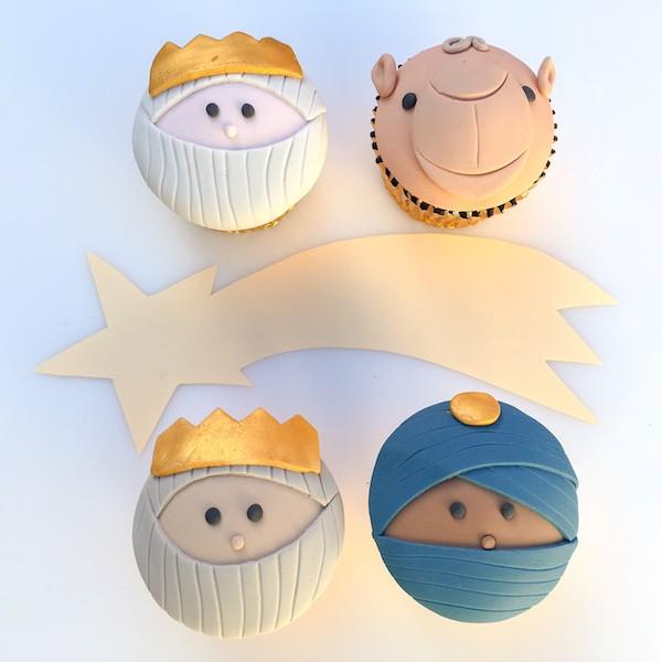 cupcake Epifania con i Re Magi