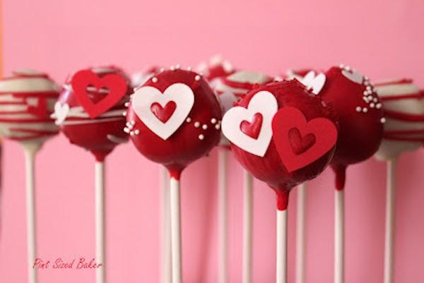 Valentine-Pops