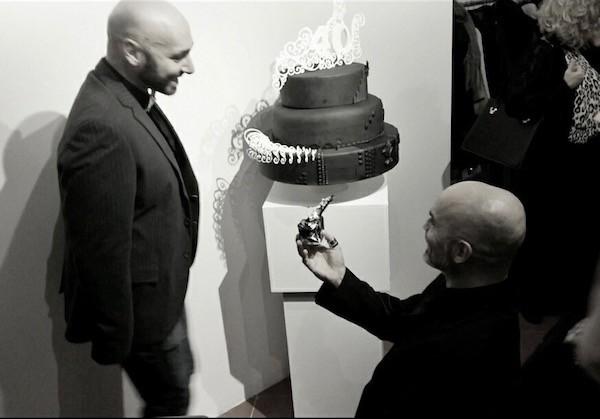 fidanzamento red carpet cake design