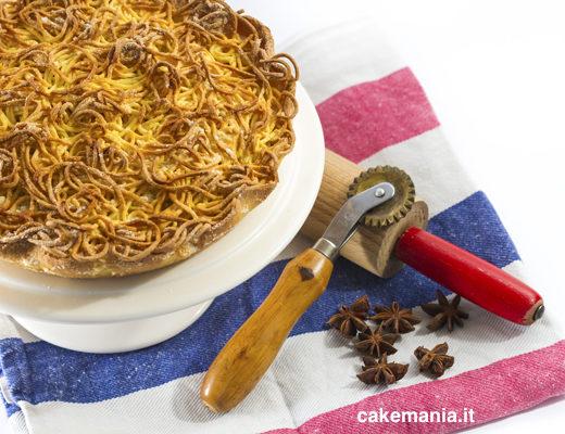 ricetta della torta di tagliatelle