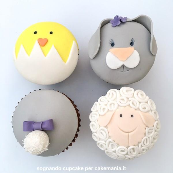 come si fanno le cupcake di pasqua