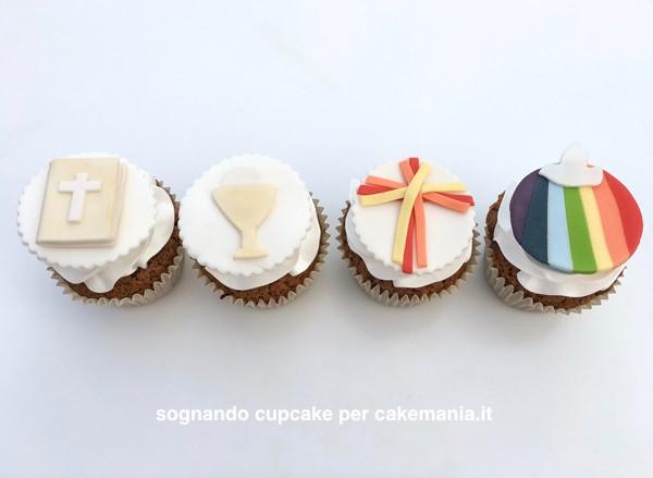 cupcake per comunione e cresima