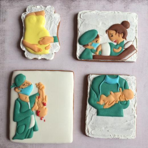 birth cookies