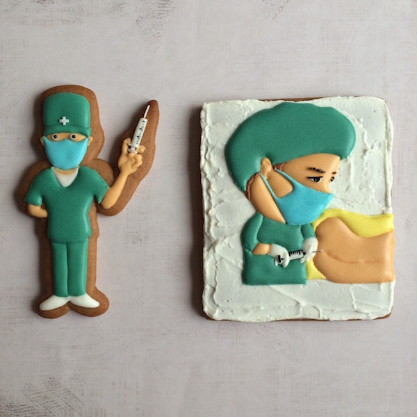 birth epidural cookies