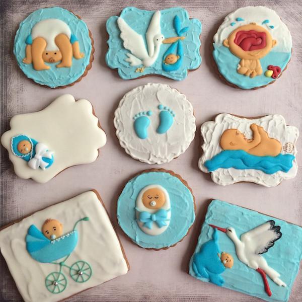 biscotti nascita cicogna