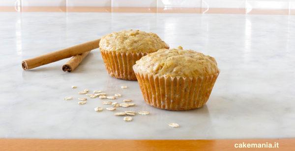 muffin ai fiocchi d'avena