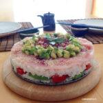 come si fa una sushi cake