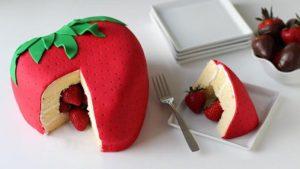 torte di fragole