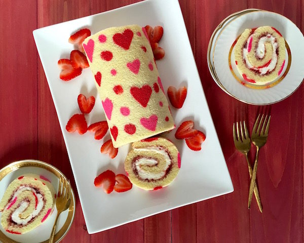 Cake-Roll- alle fragole