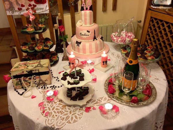 Come si fa una sweet table? Tante idee di cake design