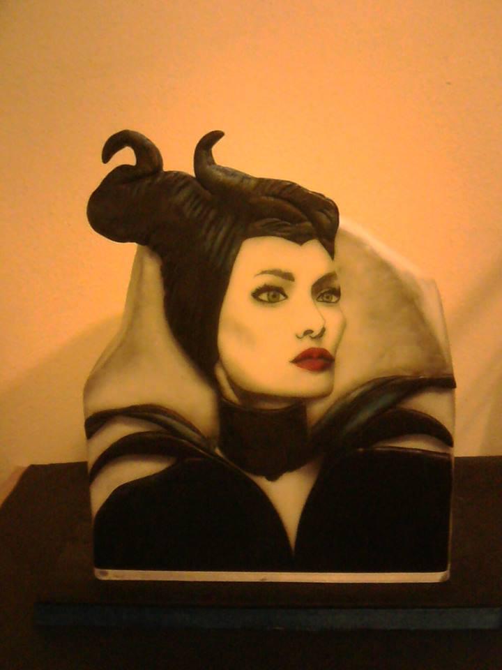 Torte di cake design Maleficent - Malefica