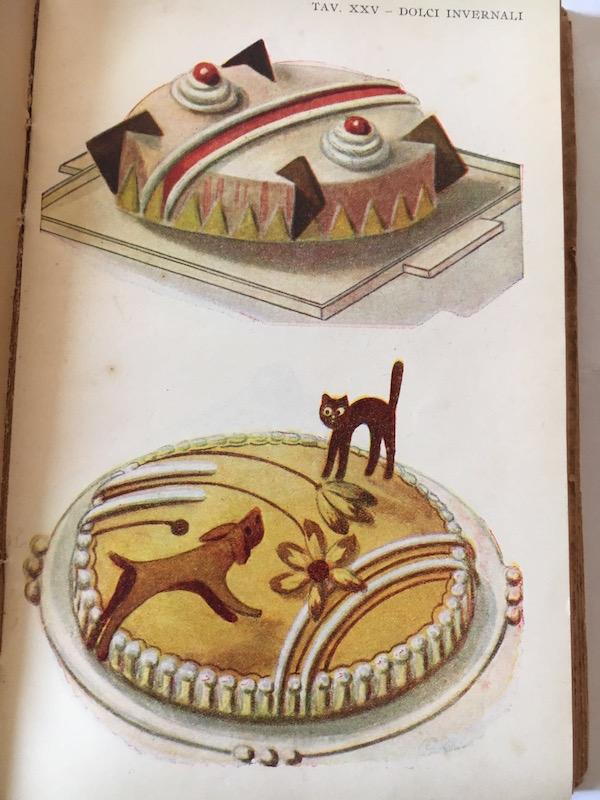 Cake design vintage