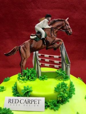 torta cavallo ippica horse cake