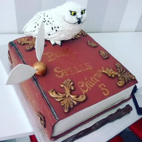 torta edwige harry potter