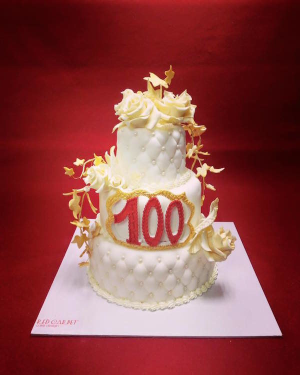 torta compleanno 100 anni