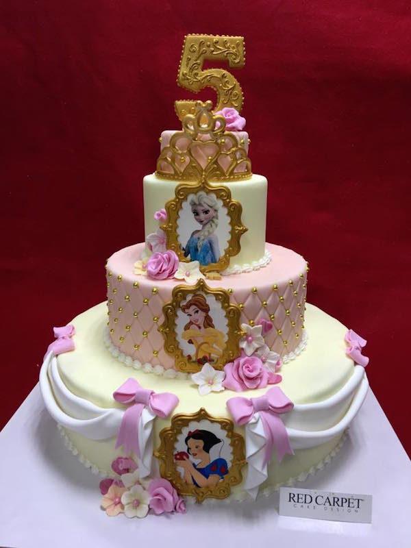 dinsey princess cake