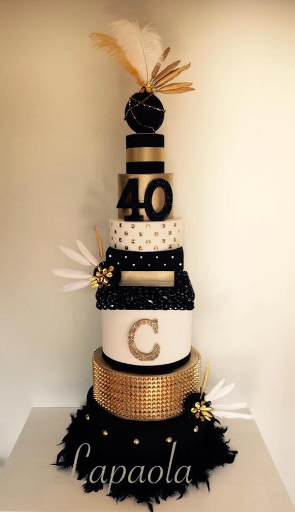 Torte Decorate Dorate Oro Amp Cake Design Per Occasioni