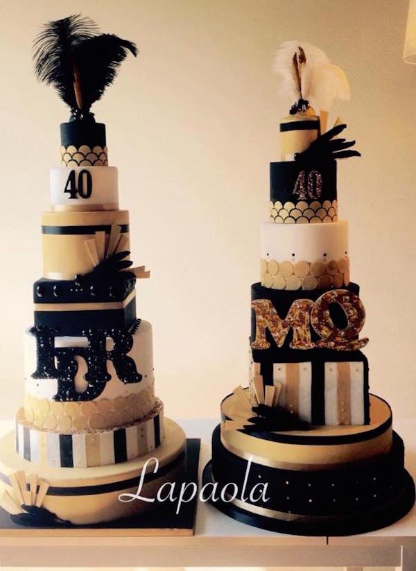 Torte decorate dorate oro cake design per occasioni for Design occasioni