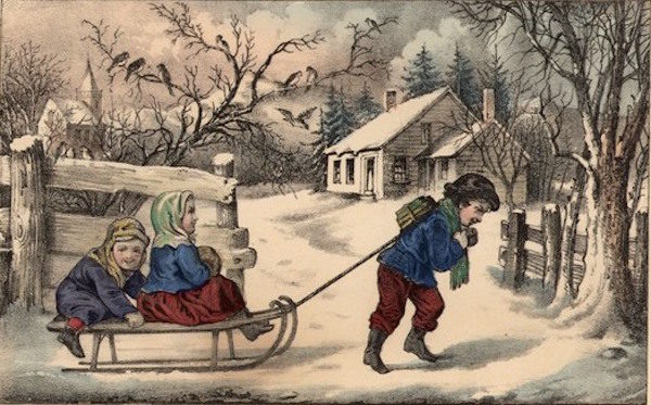currier and ives stampa