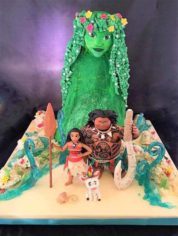 Torta Oceania Torte Di Cake Design Dedicate A Vaiana e