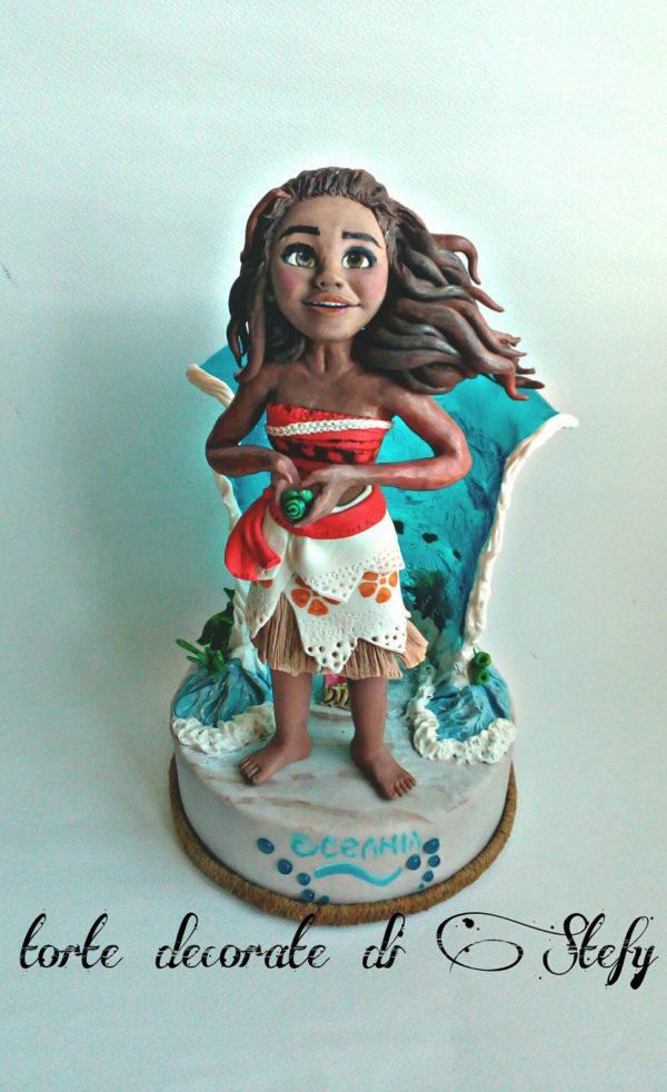 vaiana cake