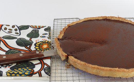 icetta della crostata al cioccolato