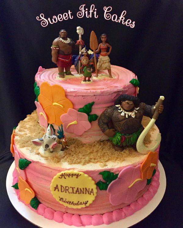 oceania moana cake