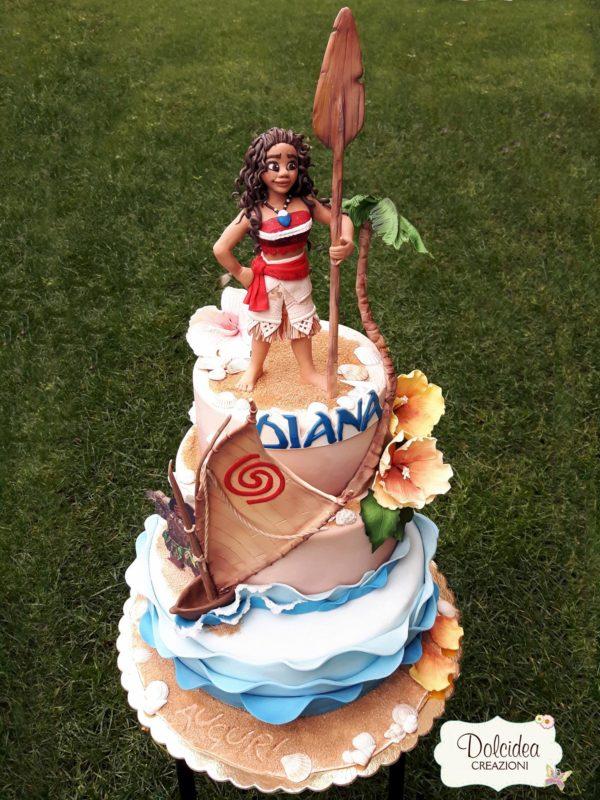 torta oceania compleanno