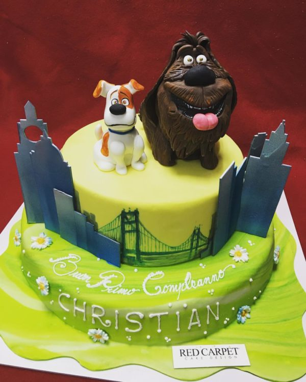 torta screte life of pets cake