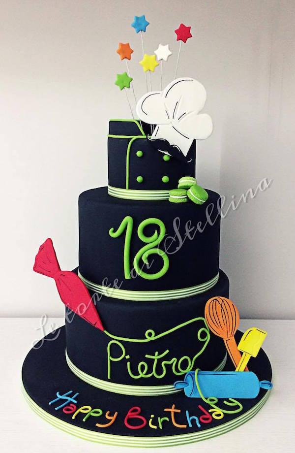 Favorito Torte 18 anni di cake design per ragazzo e ragazza BZ97