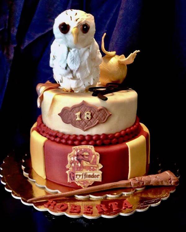 torta harry potter cake