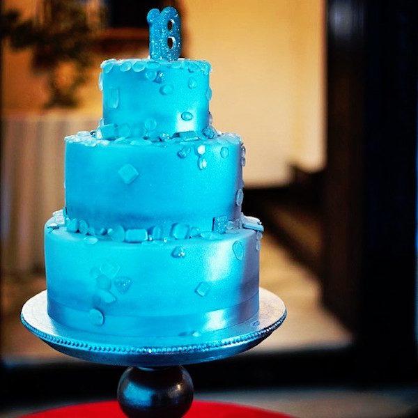 jewel birthday cake